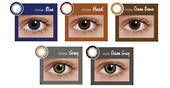Silkon Colour Contact Lenses Monthly Disposable  Innise 2pcs